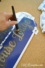 how to stencil a plaque stencil tips for beginners h20bungalow