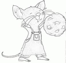 give mouse cookie coloring pages beautiful give