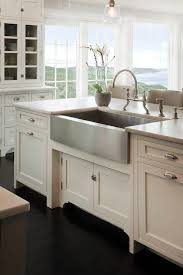white kitchen cabinets with farm sink stainless steel farmhouse style kitchen sink inspiration