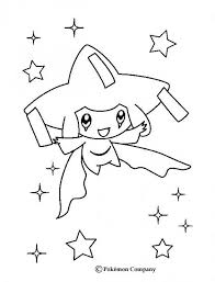 pokemon coloring pages celebi chibi google search vitlt com