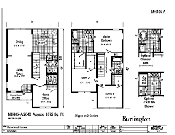 floor plans for homes two story manorwood two story homes burlington mh405a find a home
