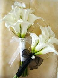 Silk Wedding Bouquet Artificial Calla Lilies Wedding Bouquets Wholesale Artificial
