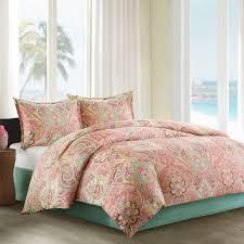 com echo guinevere comforter set twin c sea foam home kitchen