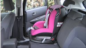 siege axiss isofix maxi cosi tobi mounted in nissan qashqai consumer presentation