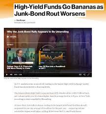 hyperbolic junk talk hedge