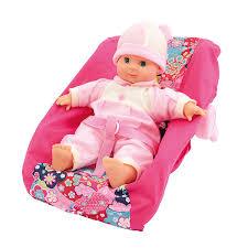 jouet siege auto poupon 30 cm avec siège auto bebe king jouet poupées