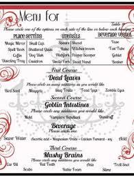 mystery dinner menu using scriptures thanksgiving