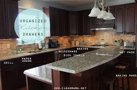 Organization In The Kitchen - organized kitchen home tour kitchen drawers clean mama