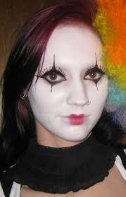 white face halloween makeup glitter is my naughty jester costume makeup halloween