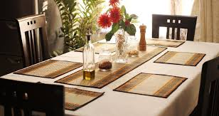 table setting picture home design inspirations table runner and placemat sets