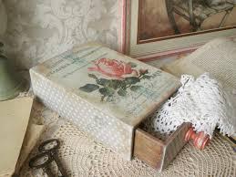 artisan home decor wooden box commode decoupage eco friendly artisan home decor