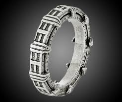stargate wedding ring stargate sterling spinner ring dudeiwantthat