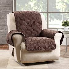 slipcover for recliner chair sure fit deluxe box cushion recliner slipcover reviews wayfair