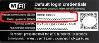 how to reset verizon router password wifi forgot password verizon fios community