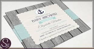 nautical baby shower invitations rustic nautical baby shower invitations
