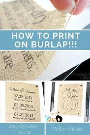 Create Your Own Flag Best 25 Printing On Burlap Ideas On Pinterest Burlap Crafts