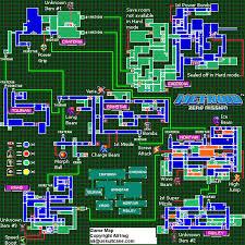 Metroid 2 Map Metroid Zero Mission Game Map