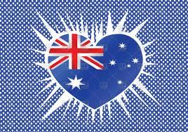 heart shaped australian flag vector clipart image 68486 u2013 rfclipart