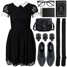 Wednesday Addams Costume Dress Black Dress Lace Dress Wednesday Addams Wheretoget