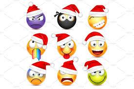 Switzerland Flag Emoji Abstract Funny Santa Claus Emoji Icons Creative Market