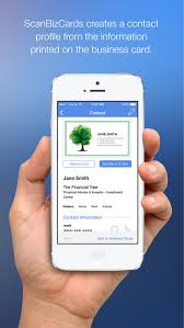 Business Card Capture App Scanbizcards On The App Store