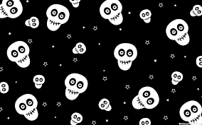 cute halloween skeleton cute halloween skulls wallpaper