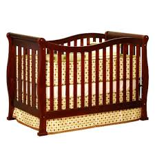 Cherry Convertible Crib Afg Baby Convertible Crib W Toddler Rail In Cherry Beyond