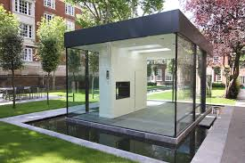 glass room google search prefab office pinterest prefab