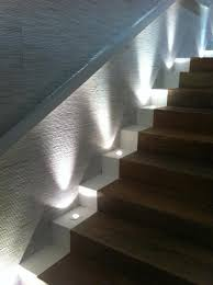 uplights stairs lbr home project penthouse pinterest
