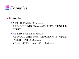 alter table modify column alter table modify column oracle not null best table 2018