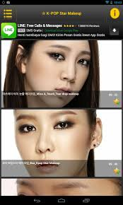 make up artist app kpop makeup artist android apps on play