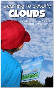weather science cloud classification activities for kids gift
