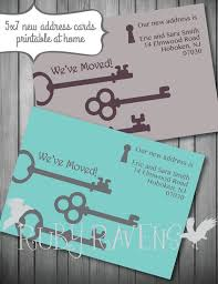 the 25 best new address cards ideas on change of