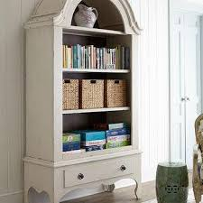 a frame 3 shelves white wash bookcase