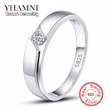 Wedding Ring For Men by Online Get Cheap Cz Silver Rings Aliexpress Com Alibaba Group