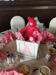 teddy centerpieces for baby shower abc block teddy centerpiece baby shower teddy girl