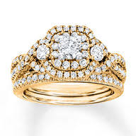 yellow gold bridal sets jared bridal sets wedding ring sets