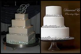 diy wedding cake stand get the wedding look for less all white winter all