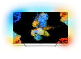 4k razor slim oled tv powered by android 55pos9002 12 philips