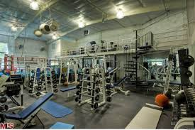 celebrity home gyms mark wahlberg s house has the most unbelievable home gym of course