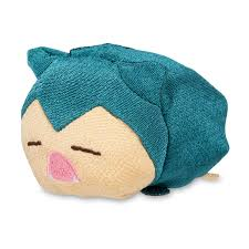 Pokemon Snorlax Bean Bag Chair Chirimen Plush Collection Kimono Style Fabric Poké Plush