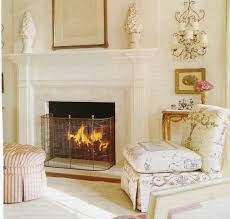Chic Room Nuance Decorating Fireplace Mantle For Modern Minimalist House Design