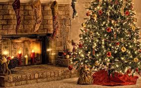 wallpaper 1920x1080 christmas holiday fireplace idolza