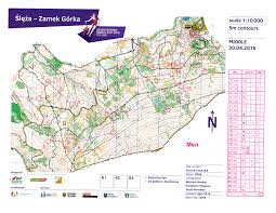Map Request Wcup Middle Men Poland April 30th 2016 Orienteering Map From