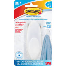 command towel hook large 1 hook frosted 1 large strip pack