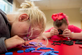 Las Vegas Blind Center Las Vegas Camp For Children With Sight Disabilities Lets Them Have