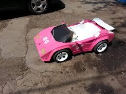 barbie power wheels new here lambo for my 2yr old son not so barbie anymore