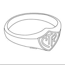 coloring ring coloring pages brilliant ring coloring