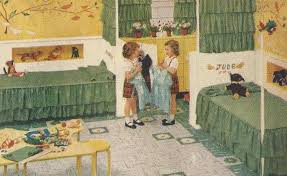 50s Bedroom Furniture by Drawing Of 50 U0027s Bedroom Cute How They Took The Corner Beds And