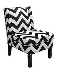 Chevron Accent Chair Skyline Furniture Wingback Chair In Zig Zag Grey